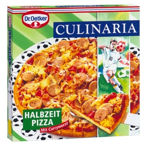 Currywurstpizza