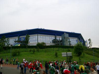 Mexico WM Spiel auf Schalke