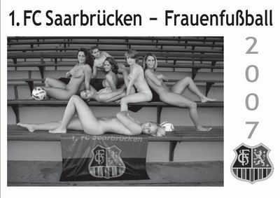 FC Saarbrücken Nackt Kalender