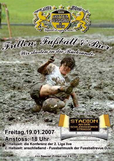 Fritten, Fussball & Bier