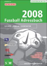 Fussball Adressbuch 2008