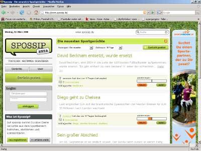 Gerüchteküche – www.spossip.de
