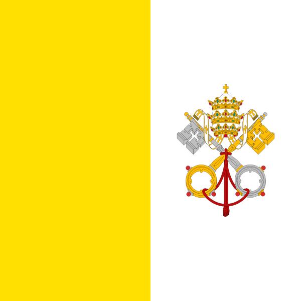 Vatikan Fahne
