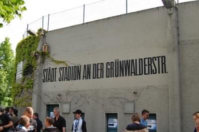 Das Grünwalder Stadion in München