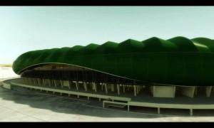 Das Krokodilstadion in Bursa kommt…