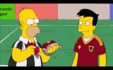 Homer Simpson als WM-Schiedsrichter