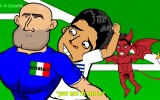 Luis Suarez geht beim Italiener mal eben was essen…
