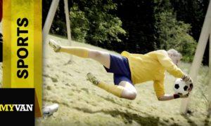 So spielt man Fussball in den Bergen