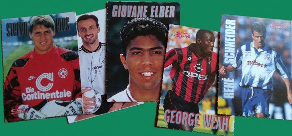 Fußballbilder aus den 90ern
